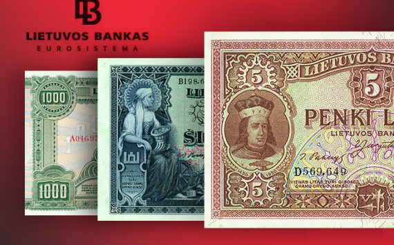 2018 Bank of Lithuania exhibition – 100 anniversary of Independance