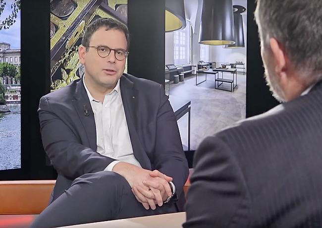 Interview du nouveau PDG de la Monnaie de Paris, Aurélien ROUSSEAU