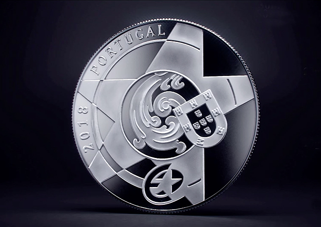 Le programme monétaire de la Monnaie du Portugal 2018 – Casa da Moeda