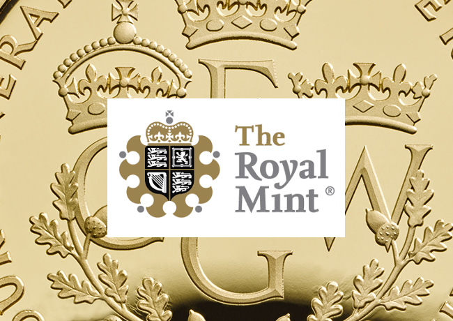 Emissions de la Royal Mint célébrant la famille royale : 4 générations de WINDSOR