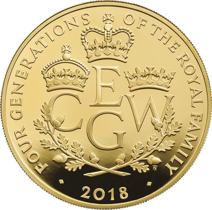 £25 de 78,9g – or 999/100 Royal Mint