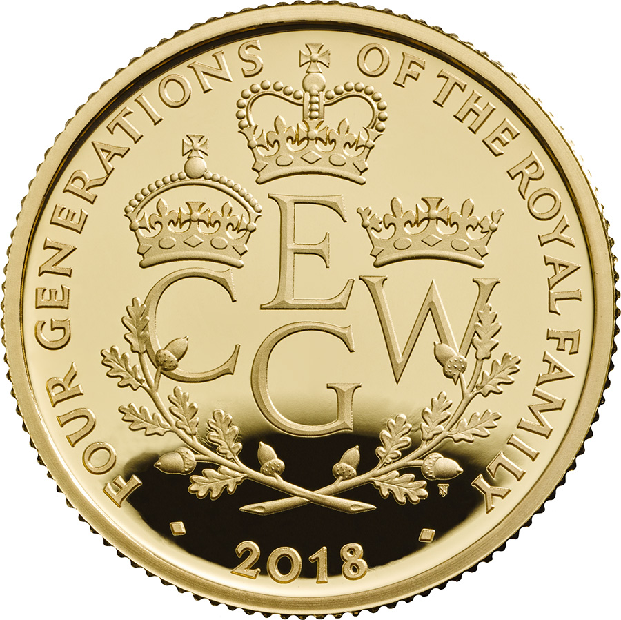 £10 de 156,2g – or 999/1000 Royal Mint 2018