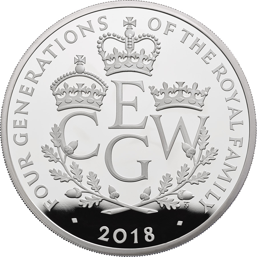 £10 de 156g - 2018 royal Mint