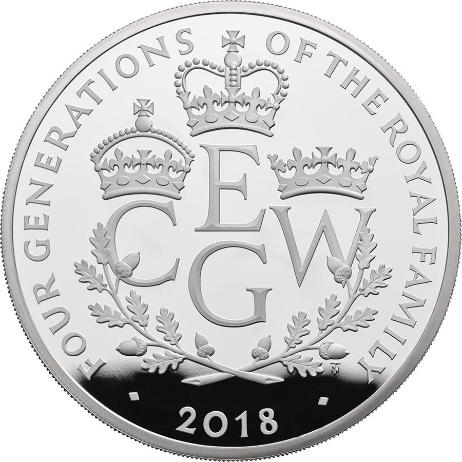 £10 de 156g - 2018 royal Mint