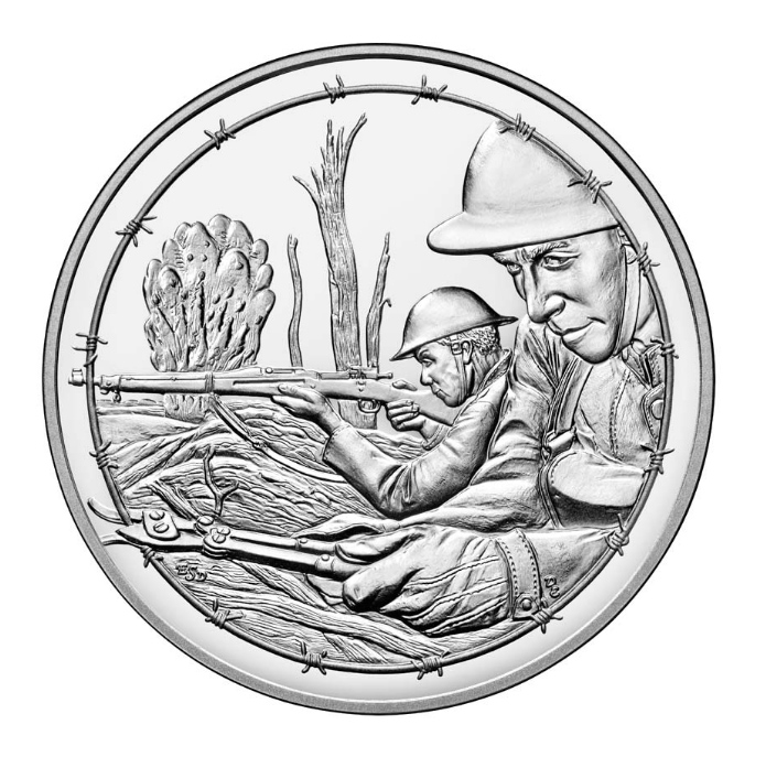 World War I Centennial Army Medal — West-Point Mint - Numismag