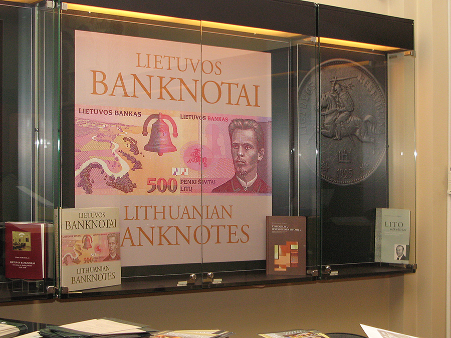2018 Bank of Lithuania exhibition - 100 anniversary of Independance