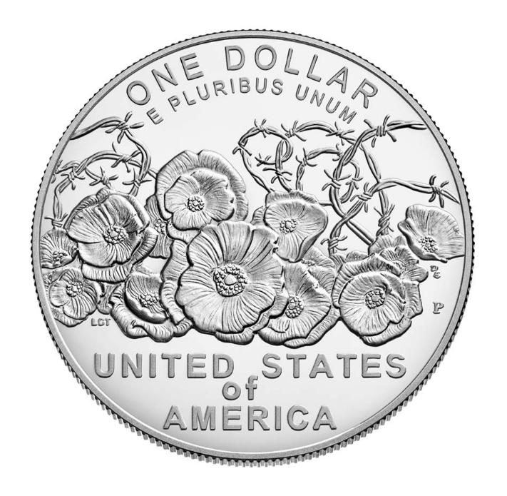 1 Dollar argent - centenaire de la Première Guerre mondiale - par l'US MINT - Numismag