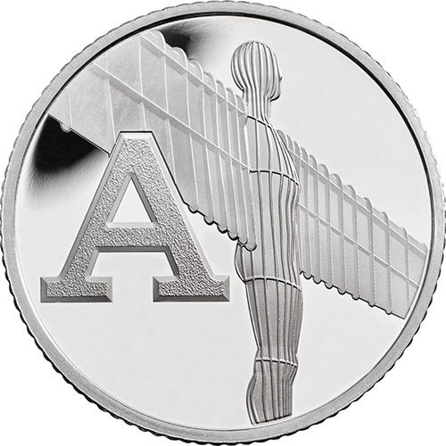 A – Angel of the North - 10p 2018 royal mint