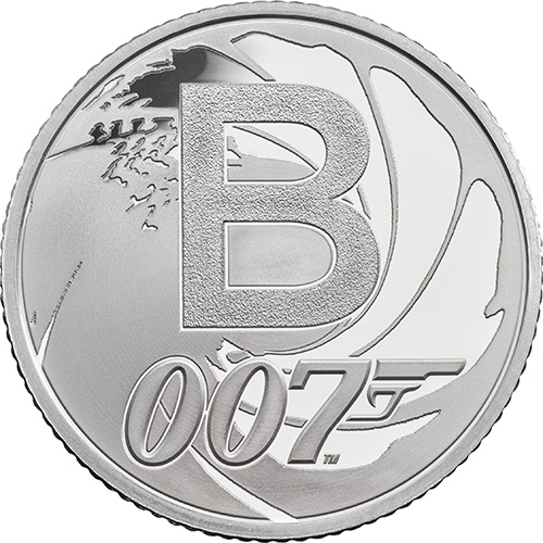 B – Bond…James Bond - 10p 2018 Royal Mint