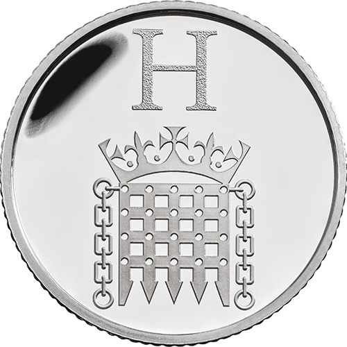 H – Houses of Parliament - 10p 2018 Royal Mint