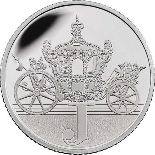 J – Jubilee - 10p 2018 Royal Mint