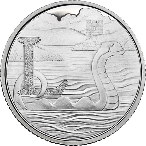 L – Loch Ness Monster - 10p 2018 Royal Mint