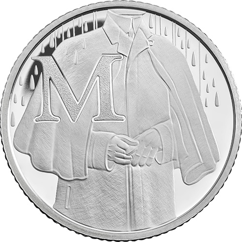 M – Mackintosh - 10 pence 2018 Royal Mint