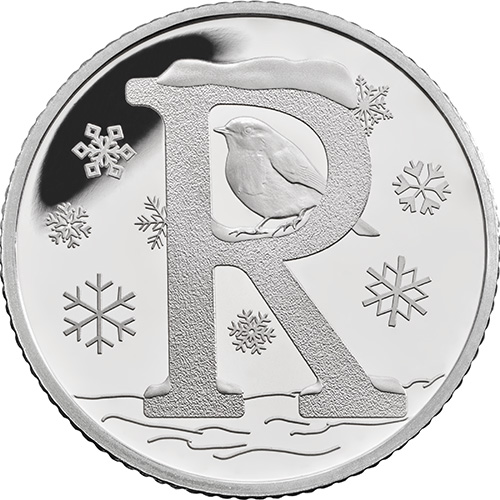 R – Robin - 10 pence 2018 Royal Mint