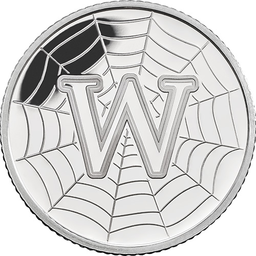 W – World Wide Web - 10 pence 2018 Royal Mint