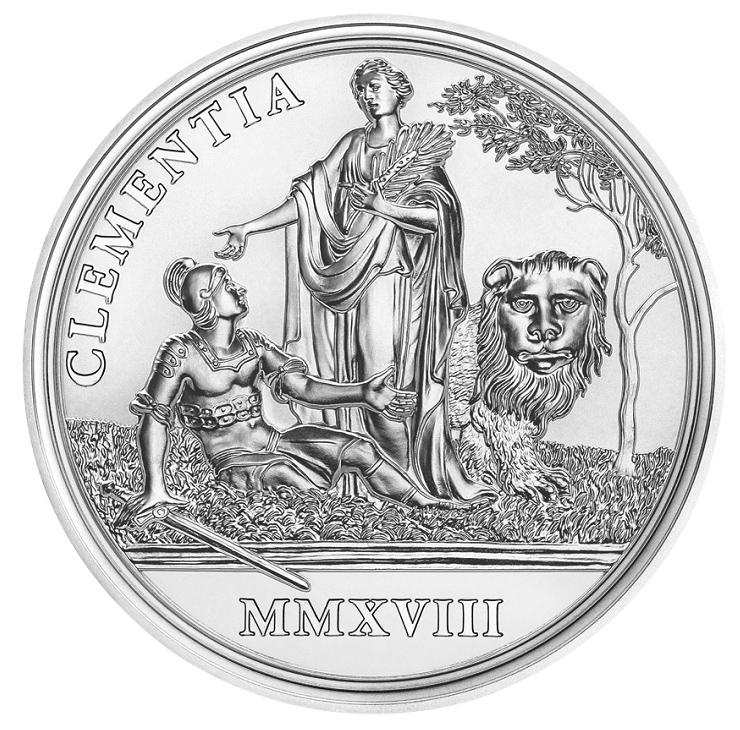 Maria Theresa 20 Euro Silver Coin Austrian 2018 - 300e anniversary of empress Maria-Theresa