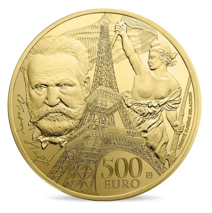 europa star la Tour Eiffel Victor Hugo monnaie de paris 2017