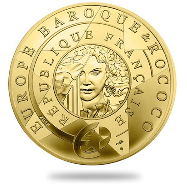 Euro - Série Europa Star - Epoque Baroque monnaie de Paris 2018