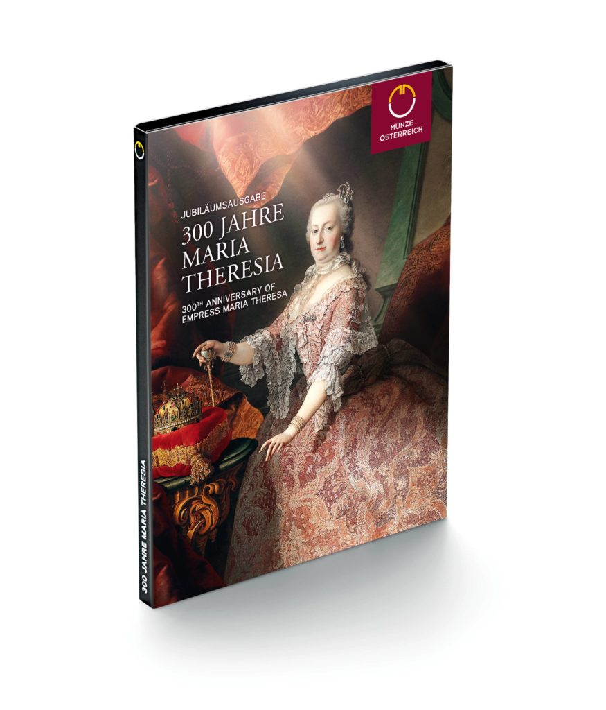 300e anniversary of empress Maria-Theresa - Maria Theresa 20 Euro Silver Coin Austrian 2018