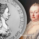 Maria Theresa 20 Euro Silver Coin Austrian 2018