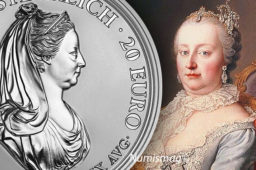 Austria issues a silver €20 coin dedicated to Maria Theresa