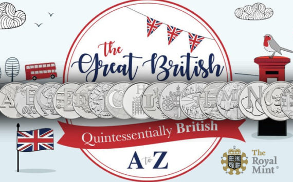 New collection of 10p coins – The Royal Mint reveals the A to Z of Britain