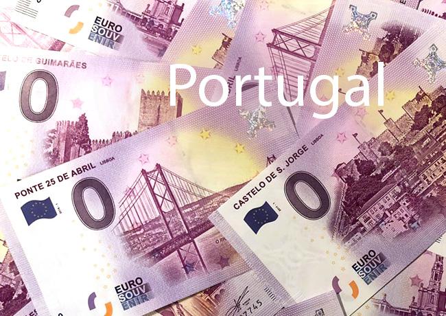 Nouveaux Billets zéro Euro Portugal – Billet Touristiques Portugal 2018