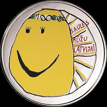 Latvian - €5 coin 2018