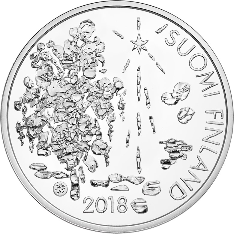 2018 Finland TOPELIUS €10 and €20 commemorative coins