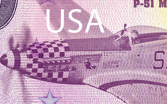 Le billet zéro euro souvenir s'exporte aux Etats-Unis en 2018
