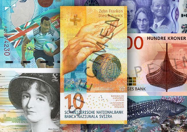 Le billet de 10 francs suisses a été élu «le plus beau billet du monde»