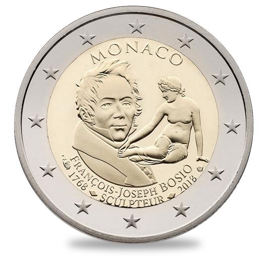 2€ François Joseph BOSIO MONACO 2018