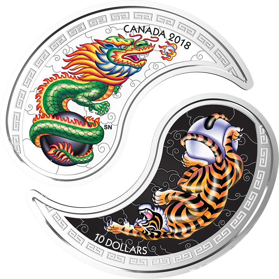 Les dernières créations monétaires de la Monnaie royale canadienne - Avril 2018