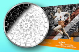 2018 €5 silver and €10 gold Fanny Blankers-Koen commemorative coins
