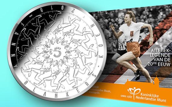 5 et 10€ or et argent 2018 FANNY BLANKERS-KOEN – Monnaie des PAYS-BAS