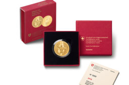 "2018 swiss gold and silver commemorative coins Steamboat ""La Suisse"" and William TELL"