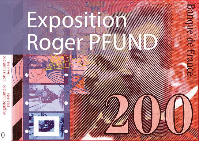 Exposition Roger PFUND à Genève – galerie d'art Artvera's