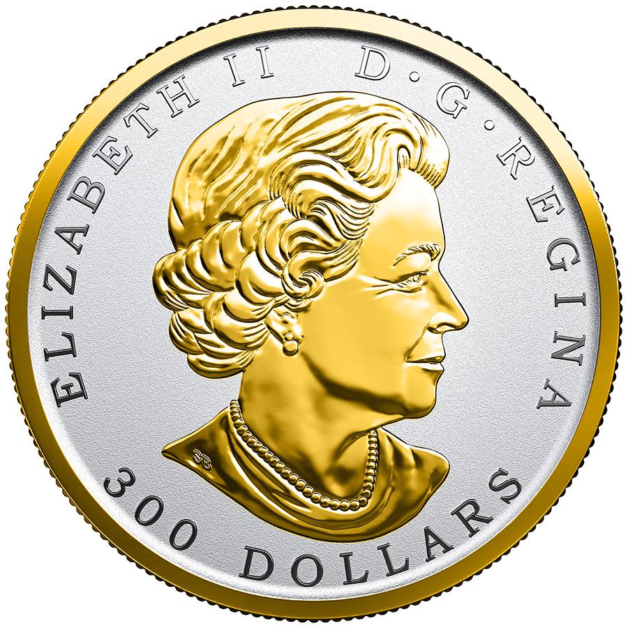 300 $ en platine pur 2018