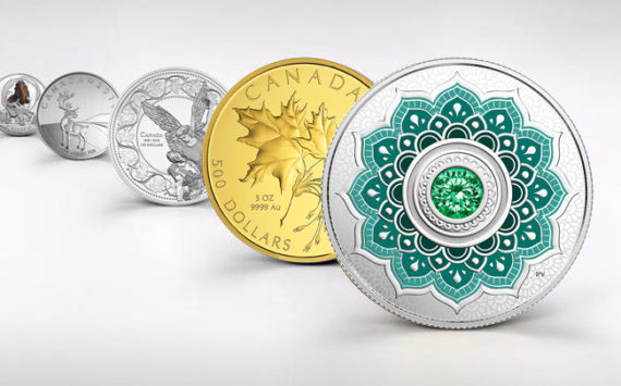 The last coin issues of the Royal Canadian Mint – April 2018