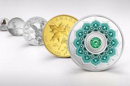 Les dernières créations monétaires de la Monnaie royale canadienne – Avril 2018
