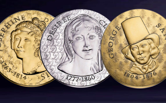 New collection of €10, 50, 200 coins, Joséphine de Beauharnais, Désirée Clary & George Sand