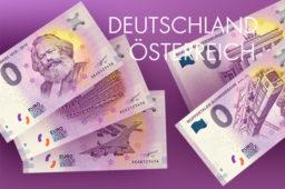 Zero Euro, 0-euro-Schein – Deutschland, Österreich 2018