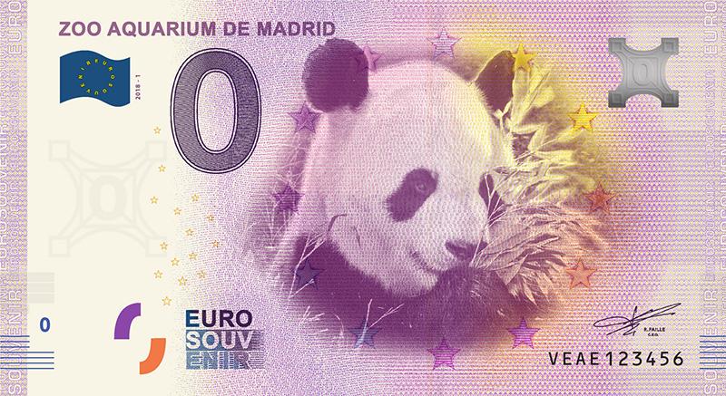 Billets 0 euro Espagne 2018