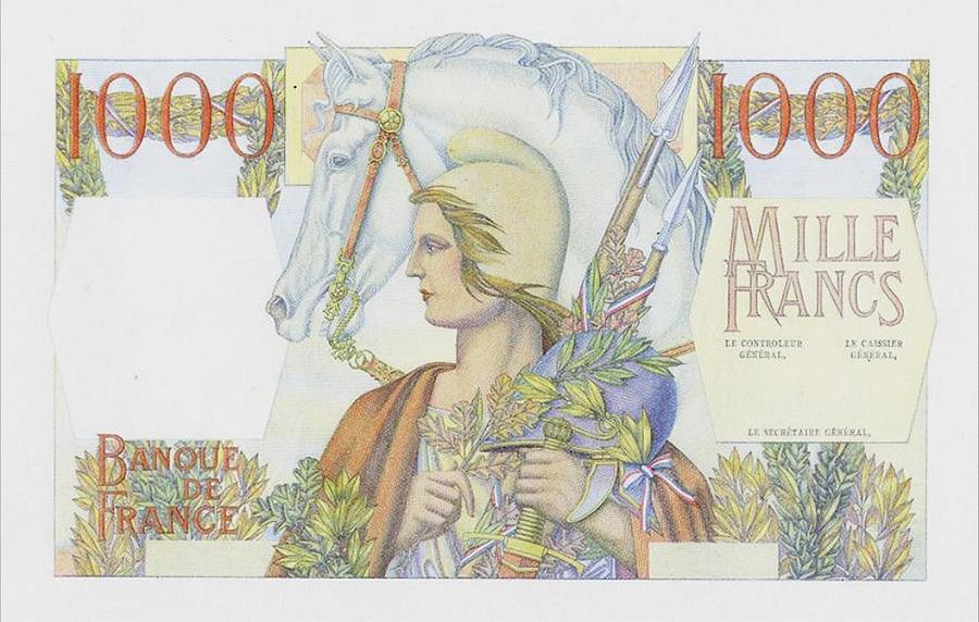 1 000 francs type 1945 « République et Cérès » - Banque de France - Non émis - NUMISMAG