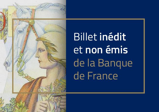 1 000 francs type 1945 « République et Cérès » – Banque de France  – Non émis