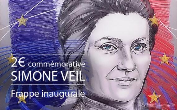 FRANCE: 2€ 2018 commémorant Simone VEIL