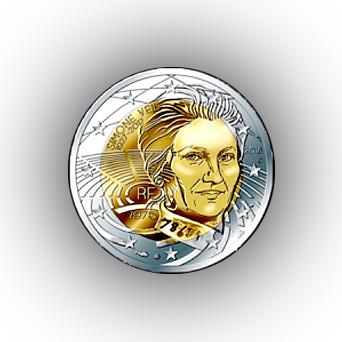 monnaie de paris 2 euros simone veil
