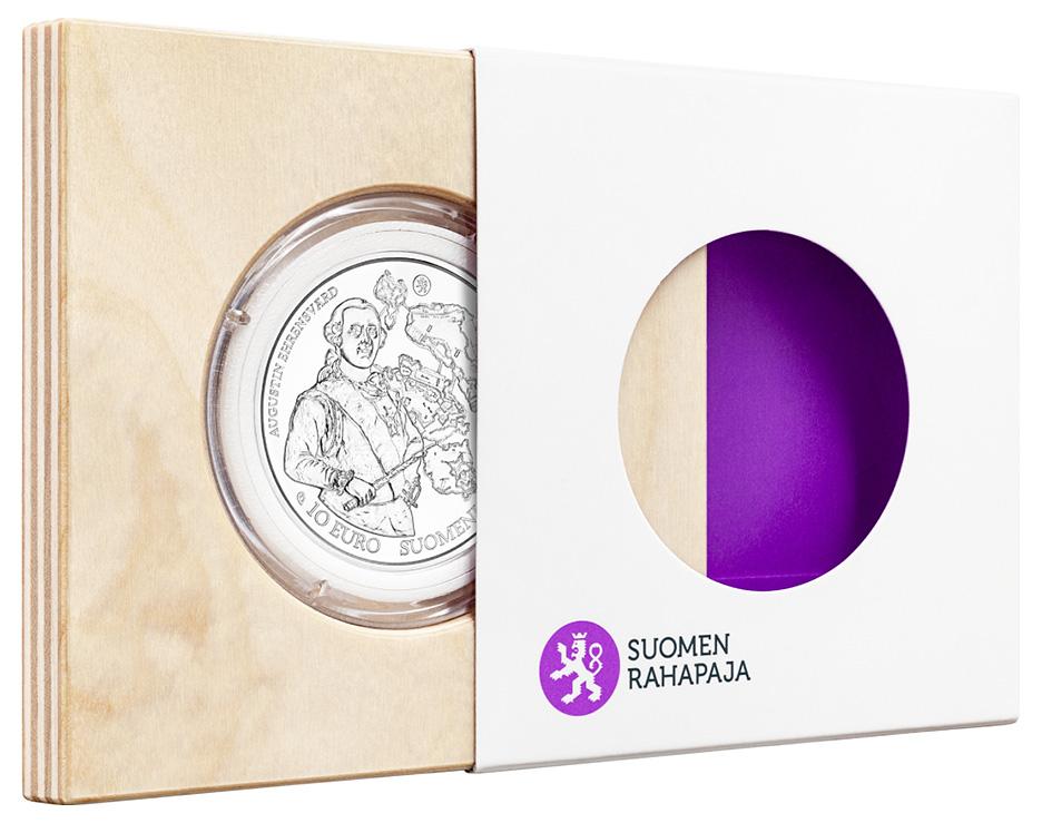 Pièce commémorative de 10 euro baroque et rococo, séries Europa Star 2018 - Monnaie de Finlande