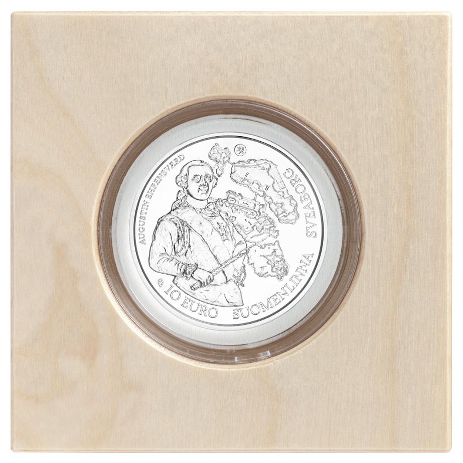 Baroque and Rococo commemorative coin € 10, Europa Star 2018 - Mint of Finland