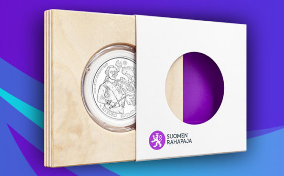 Baroque and Rococo commemorative coin € 10, Europa Star 2018 – Mint of Finland